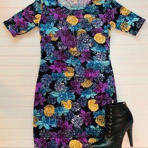 Lularoe Julia Fitted Dress